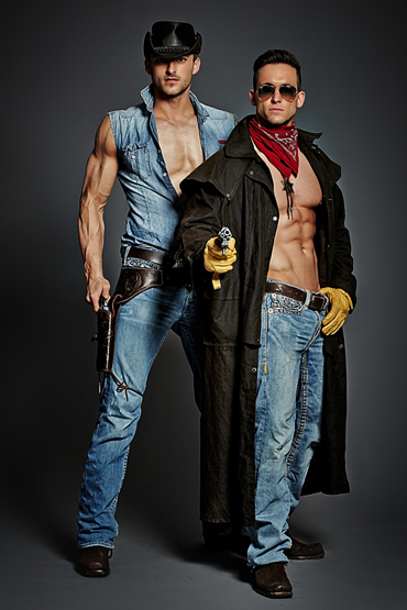 Duoshow als Cowboys - Berlin Dreamboys