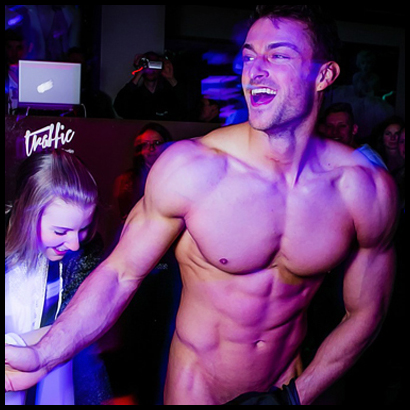 Stripper Bastian Maan aus Berlin