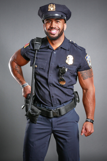 Strip as a cop